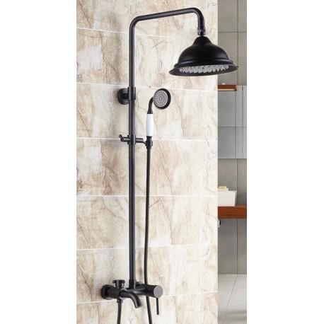 czarny prysznic