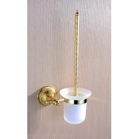 Szczotka toaletowa złota