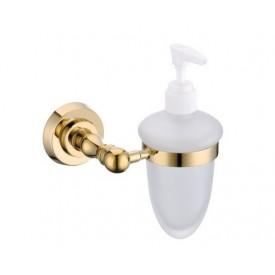 Dozownik do mydła złoto
