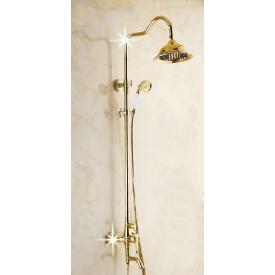 złoty prysznic