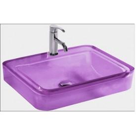 umywalka fioletowa