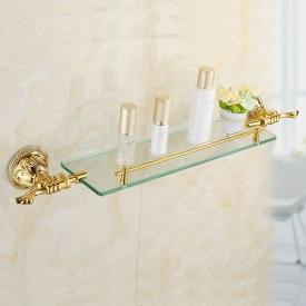 Pojedyncza półka łazienkowa zirconium