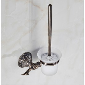 Szczotka toaletowa - brąz