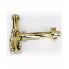 Syfon umywalkowy złoty